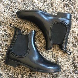 Vintage Black Chelsea Boots